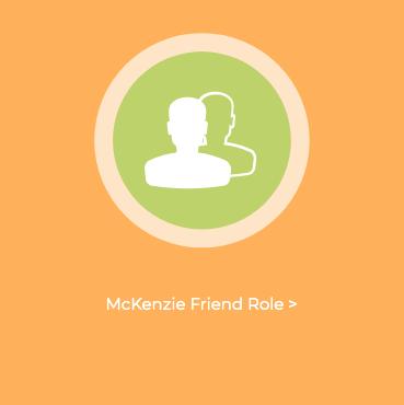 mckenzie friend role