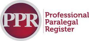 professional paralegal register logo